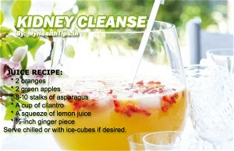 Kidney Detox Drink by Keep Kidney Stones At Distance My Health Tips My