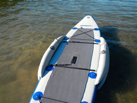 paddle board with airhead sup stabilizer review