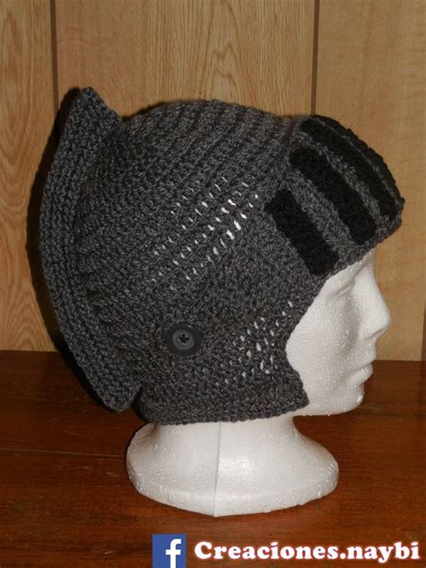 gorro tejido de soldado romano gorros casco medieval tejido a mano 320 00 en