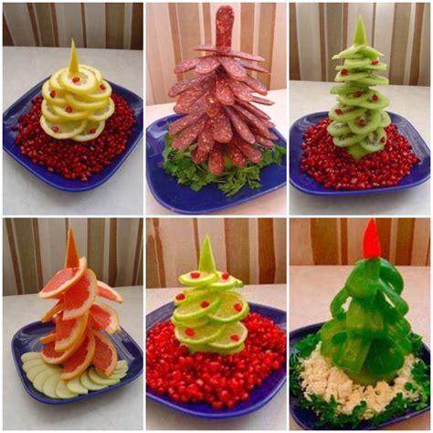 christmas fruit ideas edible tree platter diy ideas beesdiy