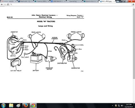 deere m wiring diagram wiring diagram with description