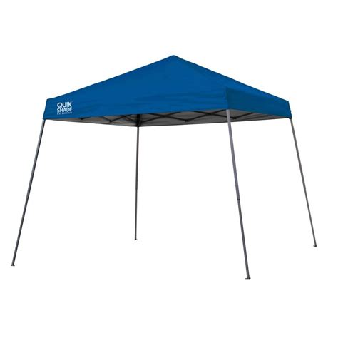 instant shade awning quik shade summit 10 ft x 17 ft instant canopy in taupe