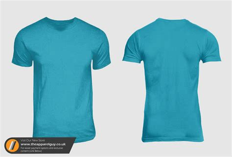 American Round Neck Psd By Theapparelguy On Deviantart Blank T Shirt Template Photoshop