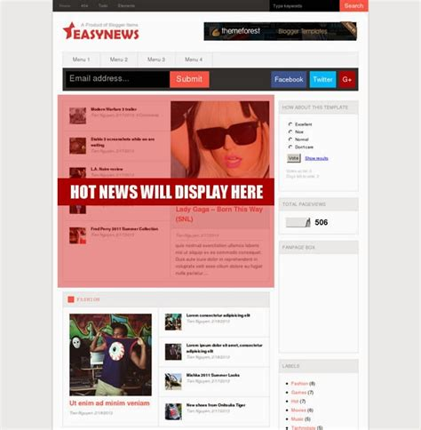 easy news free responsive magazine ads ready blogger