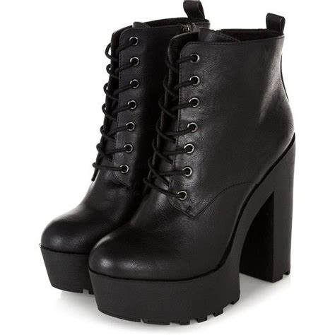 Platform Chunky Heel Boots 25 best ideas about chunky boots on black