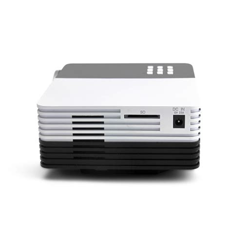 Gm50 Projector gm50 portable led projector support 1080p sd hdmi vga av