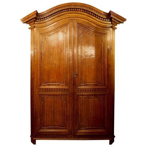 oak armoires elegant honey colored oak armoire flemish circa 1785 at