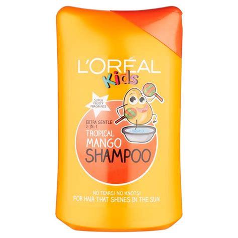 Bath And Shower Gel l oreal kids tropical mango shampoo 250ml from ocado