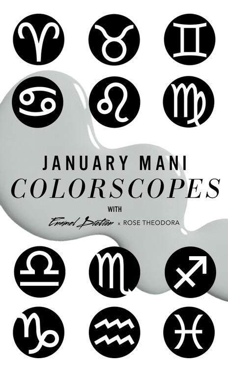 nail colors for january january horoscopes from horoscopes best nail