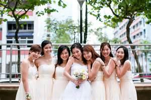 Wedding Attire Singapore by Bridesmaid Band Of Attire Singaporebrides