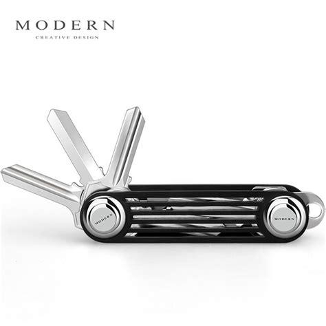 Modern Key Organizer Key Ring As Seen On Tv Key 1 modern brand new 2017 aluminum smart key wallet key