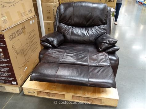 Costco Rocker Recliner by Woodworth Easton Leather Recliner From Costco