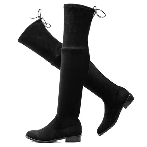 cheap 2016 thigh high boots the knee motorcycle