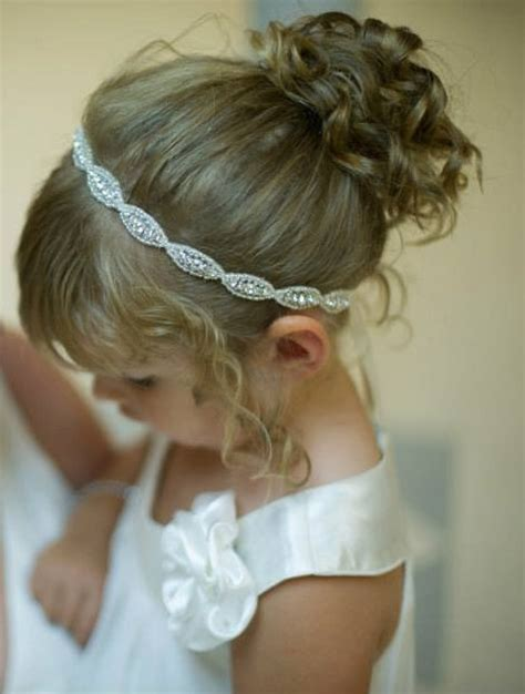 Wedding Hair Accessories For Toddlers by Flower Headpiece Headband Flower Hair