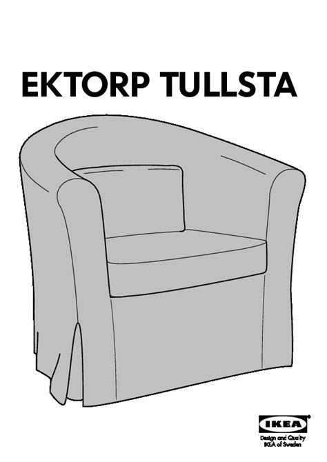 poltrona ektorp ektorp tullsta housse de fauteuil blekinge blanc ikea