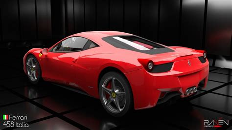 ferrari new model ferrari 458 italia 3d model obj 3ds fbx c4d blend dae