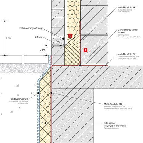 Zweischaliges Mauerwerk Unterkellert Remmers Sockelfiebel