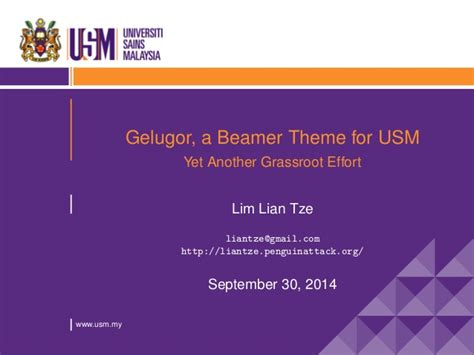 beamer theme for lecture beamer theme glugor
