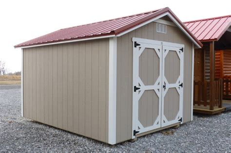 Hilltop Storage Sheds by Traditional Classic Shed Factory Direct Storage
