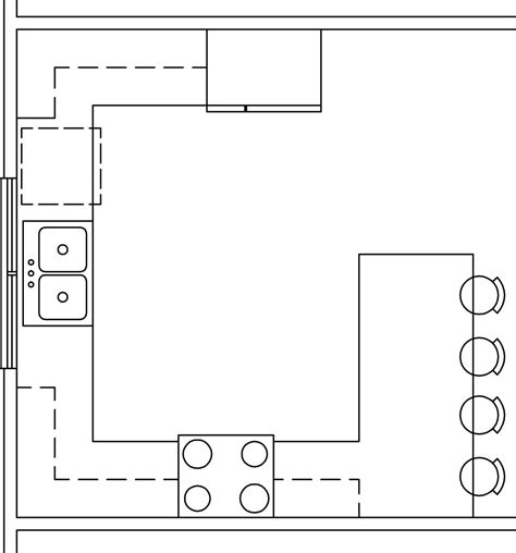 kitchen templates for floor plans g shaped kitchen layouts house furniture