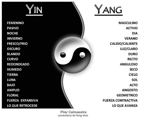 what color is yin feng shui pilares 風水 yin yang y el feng shui