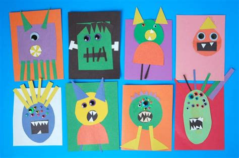 How To Make Paper Monsters - invitation to create make a what can we do with