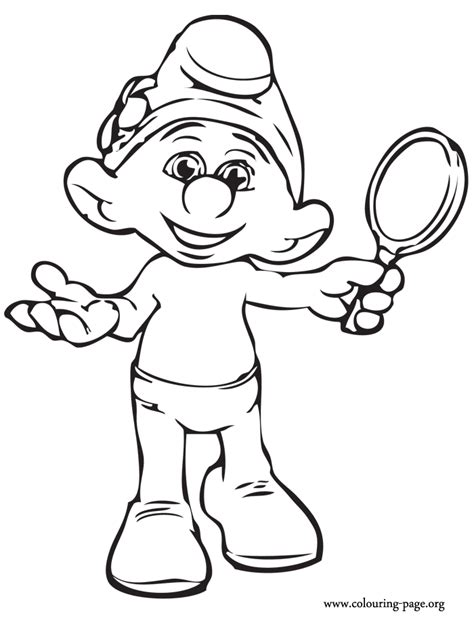 Free Coloring Pages Of Smurf Mask Smurfs 2 Coloring Pages