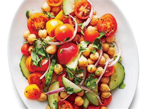 chickpea salad summery chickpea salad recipe cooking light