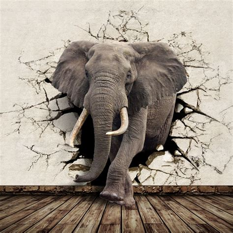 elephant wallpaper for walls beibehang beibehang customized large mural wallpaper tv