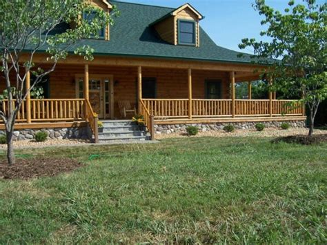 log cabin with wrap around porch exterior home designs 167 best images about one story ranch farmhouses with wrap