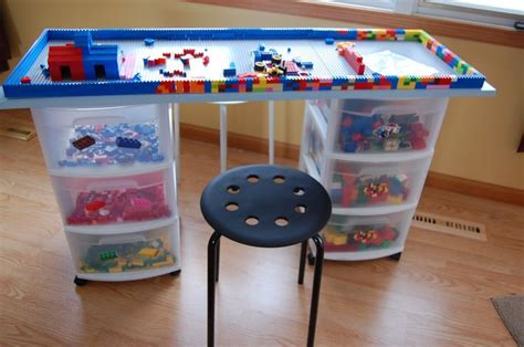 Lego Table Ideas by Awesome Idea For Lego Storage And Table Ideas