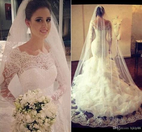 lace sheer wedding gowns vintage sleeve lace wedding dresses with sheer