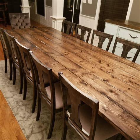 long farmhouse table large farm table rustic table custom