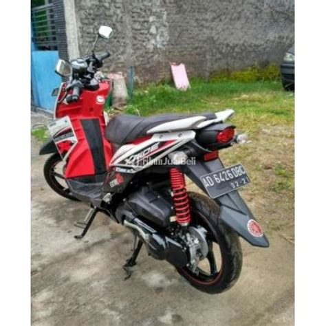 Mixer Bekas Jawa Tengah motor yamaha x ride bekas tahun 2016 merah putih velg
