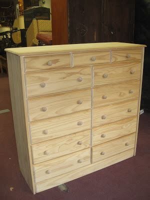 Unfinished Pine Dresser by Uhuru Furniture Collectibles Sold Unfinished Pine