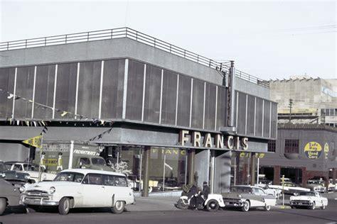 Francis Auto Sales ? Mystery Location   Vintage Portland
