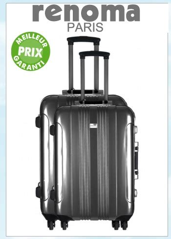 cadenas valise renoma nouvelles valises taylor chez renoma lemondedubagage