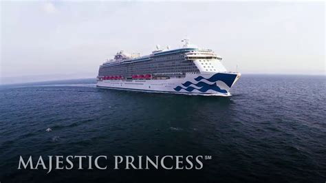 princess cruises videos majestic princess arrives as newest jewel in the crown for