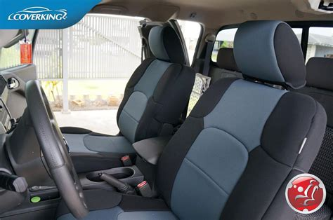 2005 toyota tacoma neoprene seat covers coverking genuine neoprene charcoal front seat covers for