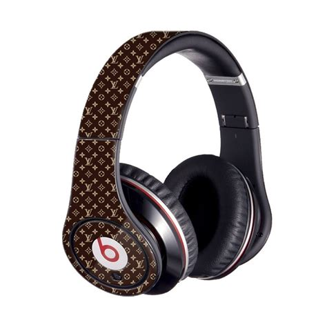 lv brown beats studio beats  dre skin