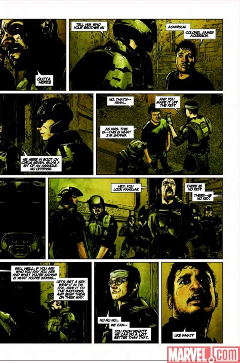 Halo Tp Blood Line Marvel Comics halo uprising 4 preview