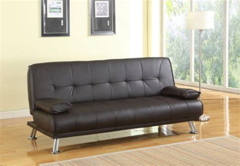 Southern Sofa Beds Venice Faux Leather Sofa Suite Sette Sofabed With Chrome