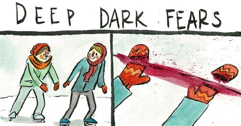 artist illustrates people s deepest and darkest fears