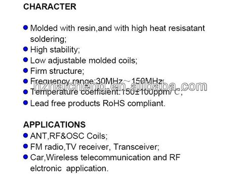 variable inductor description manufacture ferrite hc 0508 size molded variable inductor coils buy variable inductor