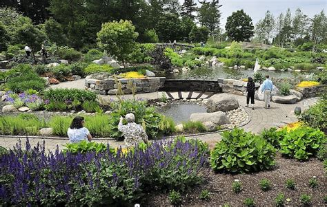 Botanical Gardens Maine Maine Garden Earning National Praise Portland Press Herald