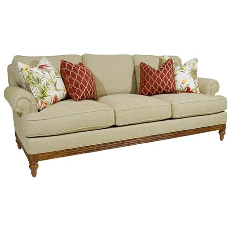 beach house sofas tommy bahama home beach house golden isle stationary sofa