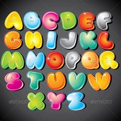 bubble letter alphabets  ai