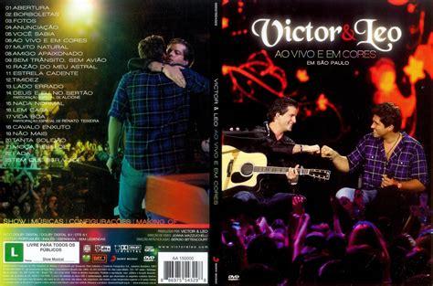 capa dvd victor e leo ao vivo e em cores hd master