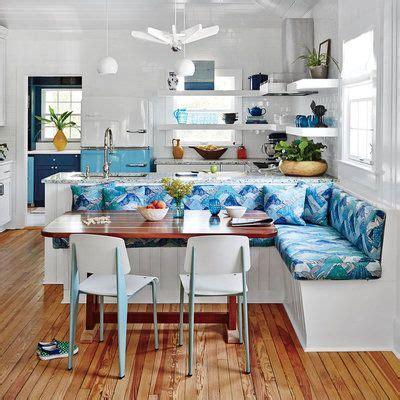 Coastal Kitchen Brunch lowcountry cottage charmer mirror walls nooks and