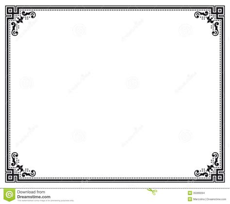 White Sertifikat 18 vector certificate border templates shotgun images